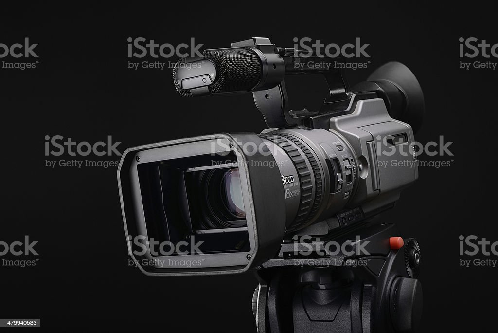 Old video camcoder stock photo