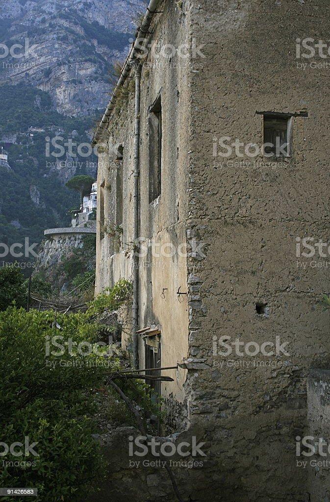 Old Villa royalty-free stock photo