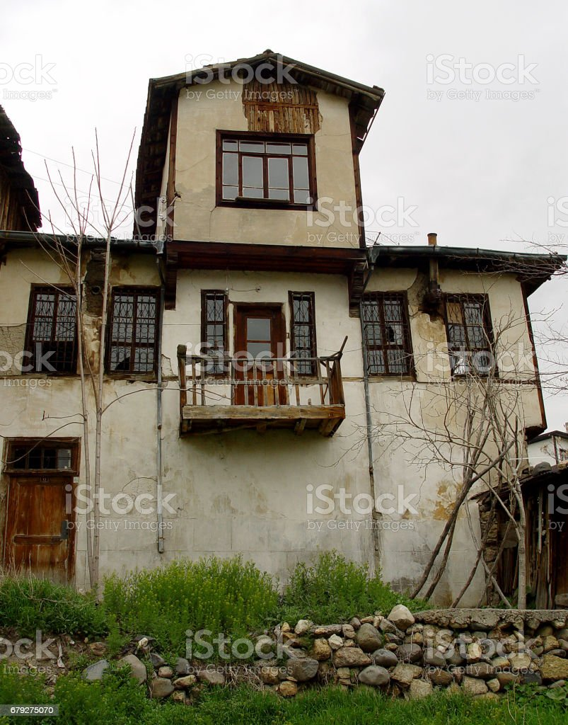 Old village house stock photo