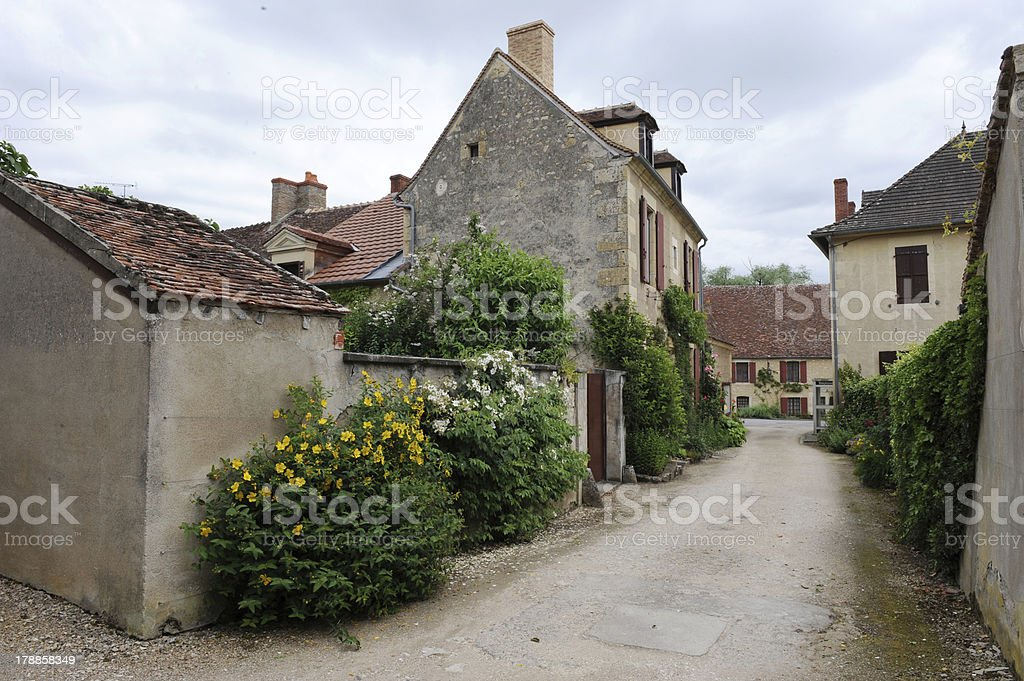 Old village #4 royalty-free stock photo