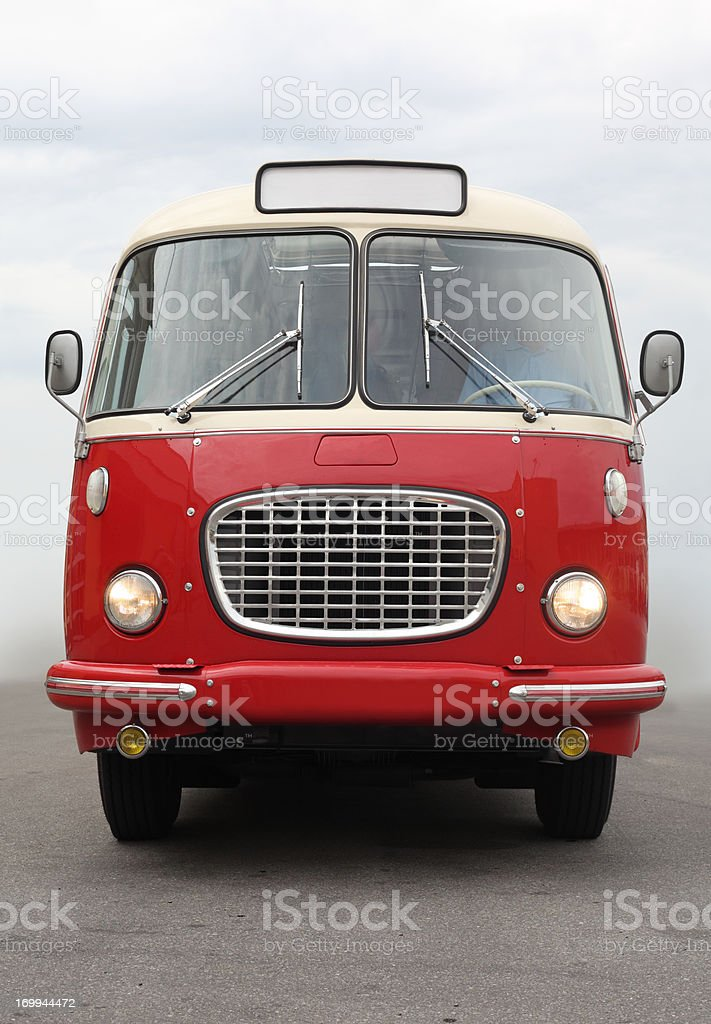 Old Vintage Bus royalty-free stock photo