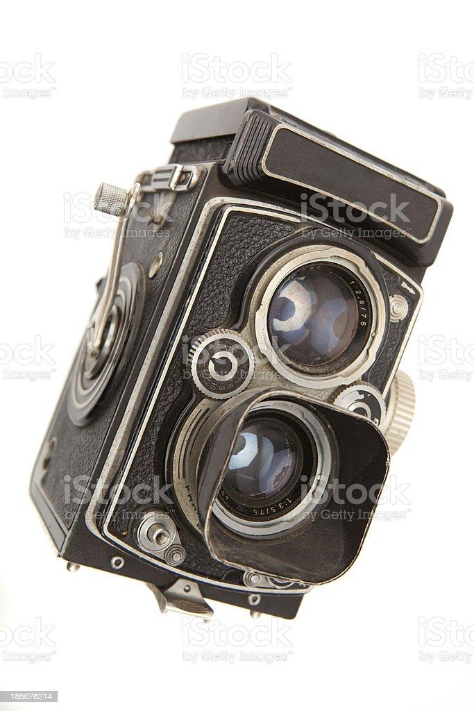 Old Vintage Camera stock photo