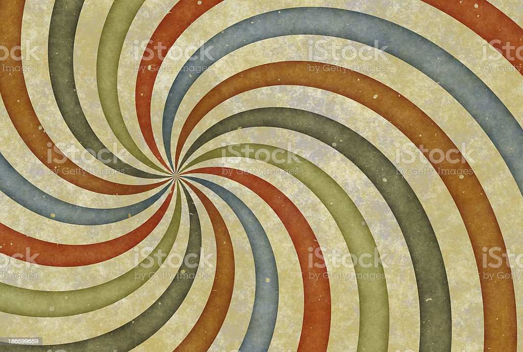 old vintage drawing picture with curl stripes. paper texture backgrounds royalty-free stock photo