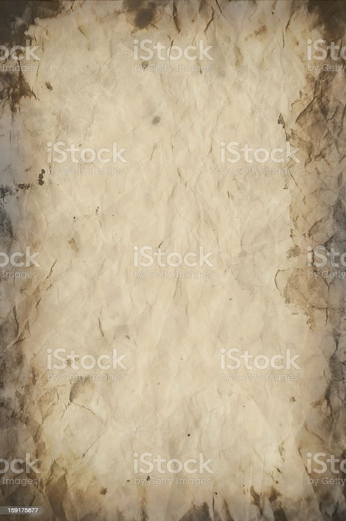 Old vintage paper texture or background royalty-free stock photo
