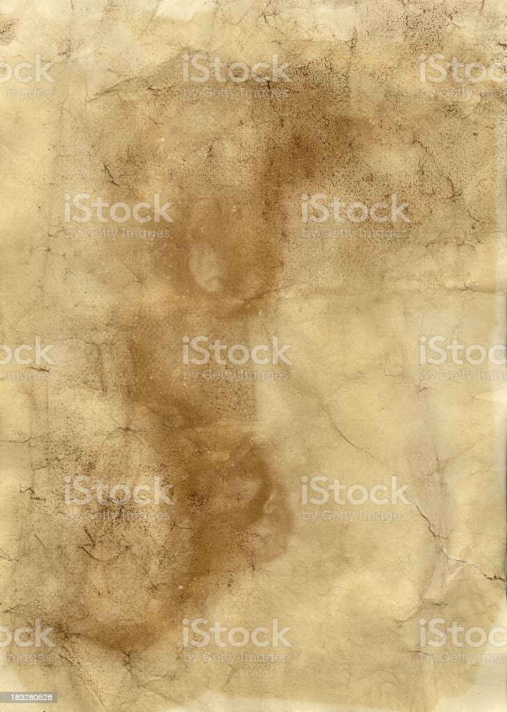 Old vintage paper  -  XXL size royalty-free stock photo