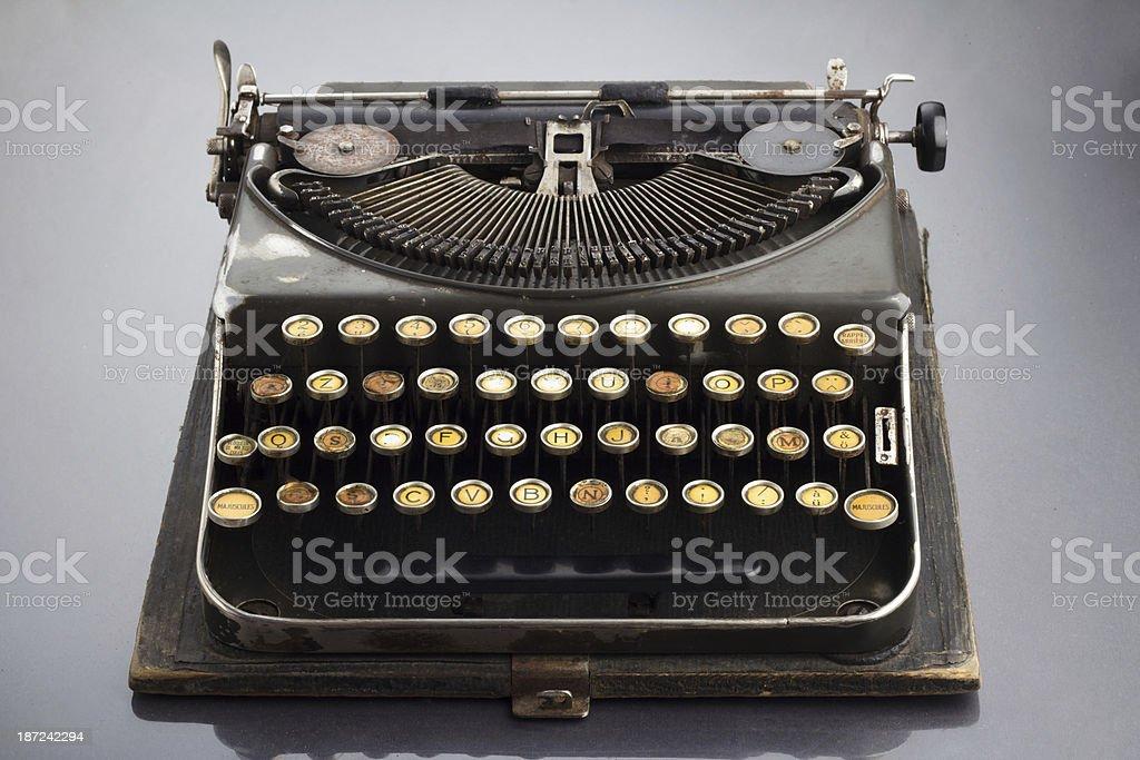 Old Vintage Typewriter royalty-free stock photo