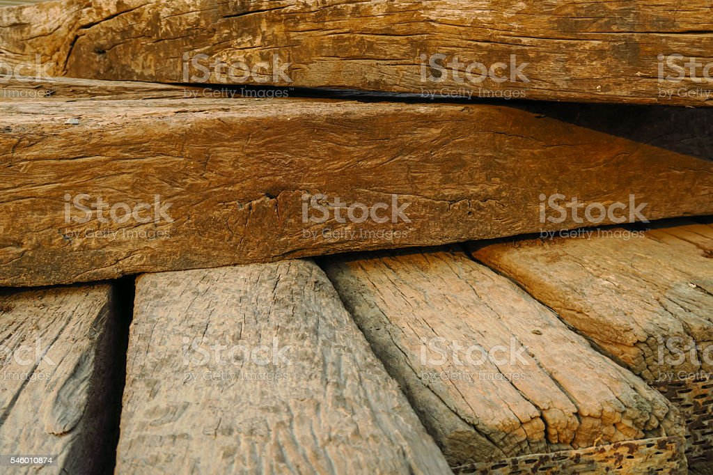 Old vintage wood choke texture background stock photo