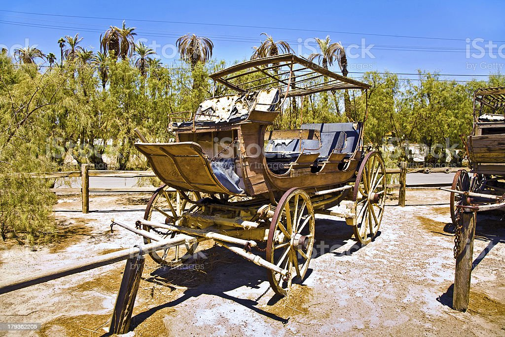 old wagon and coaches royalty-free stock photo