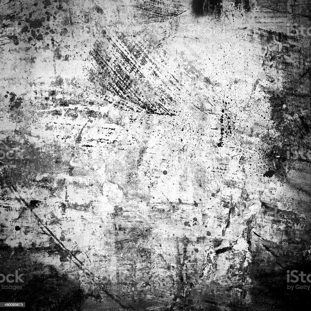Old wall background with grunge style marks stock photo