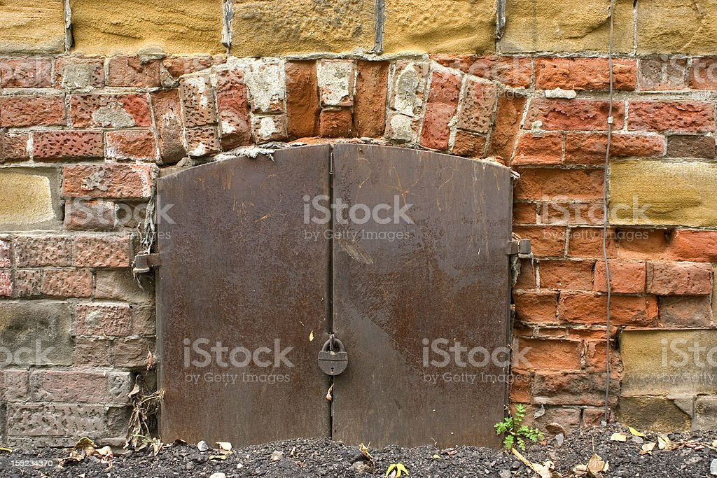 Old wall. royalty-free stock photo