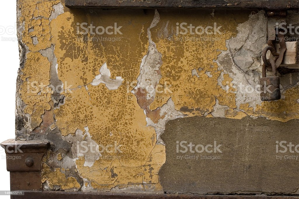 old wall texture w/ path stock photo