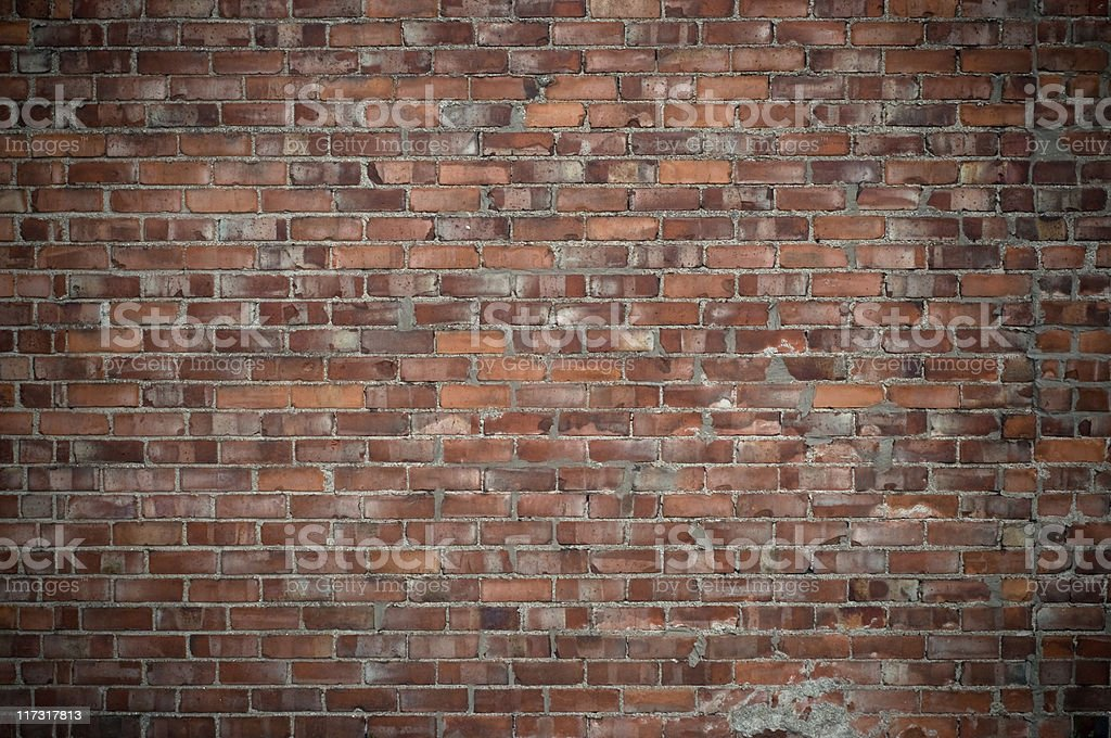 Old wall with dark corners royalty-free stock photo