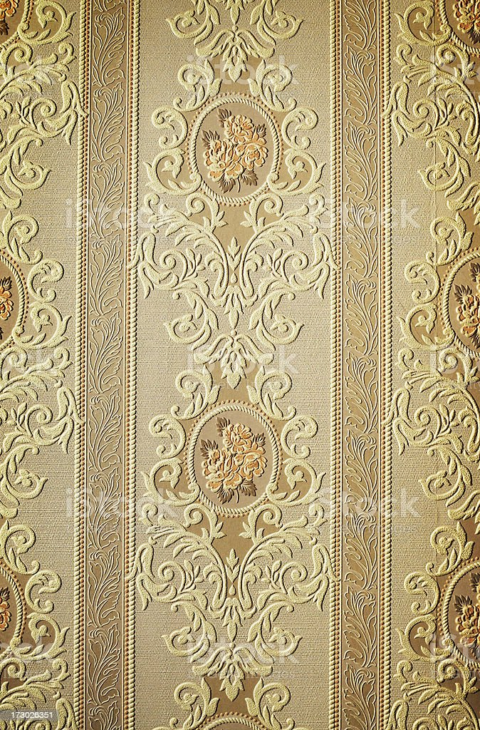 Old wallpaper royalty-free stock photo