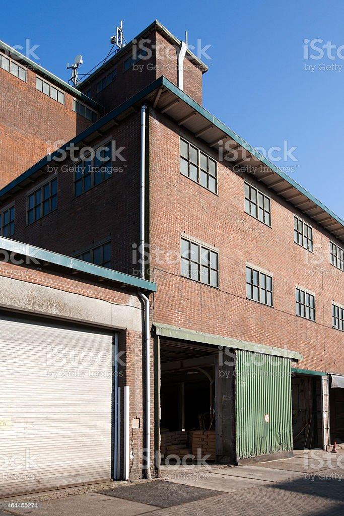 Old warehouse stock photo