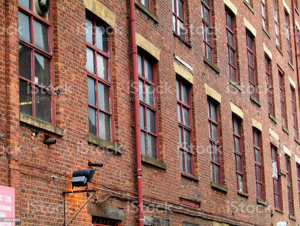 Old Warehouse royalty-free stock photo