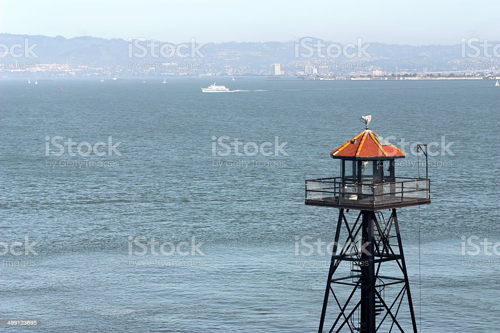 Old Watchtower stock photo