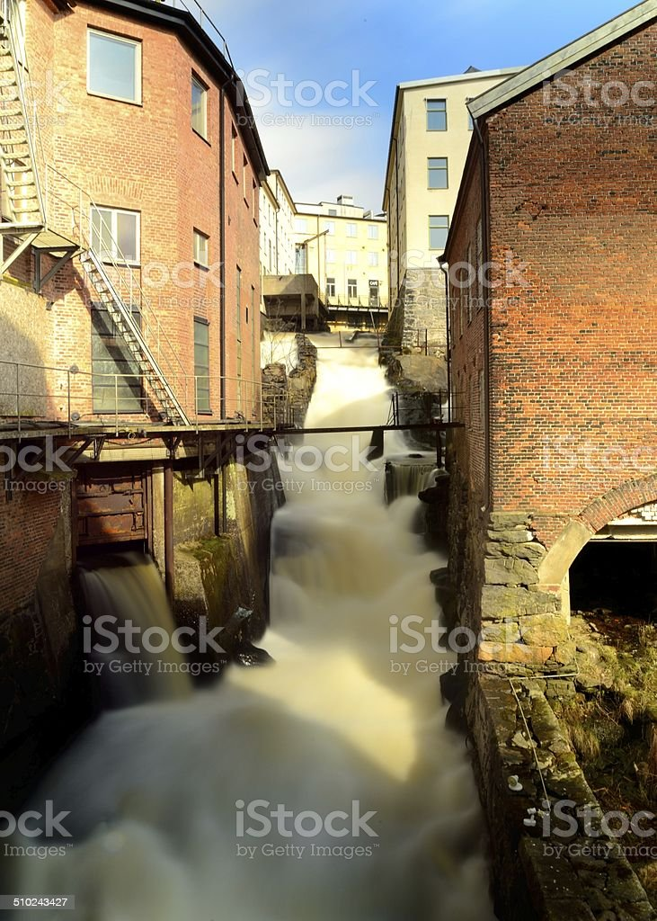 Old Water Mill stock photo