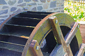Old Water Mill Wheel