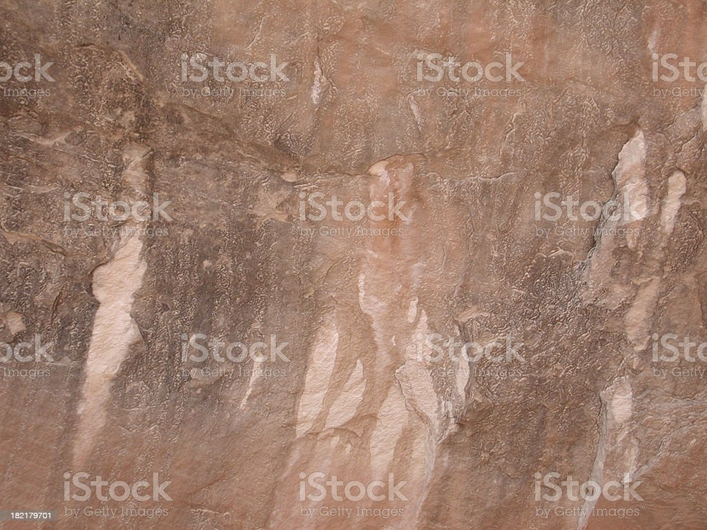 Old water stained rock royalty-free stock photo