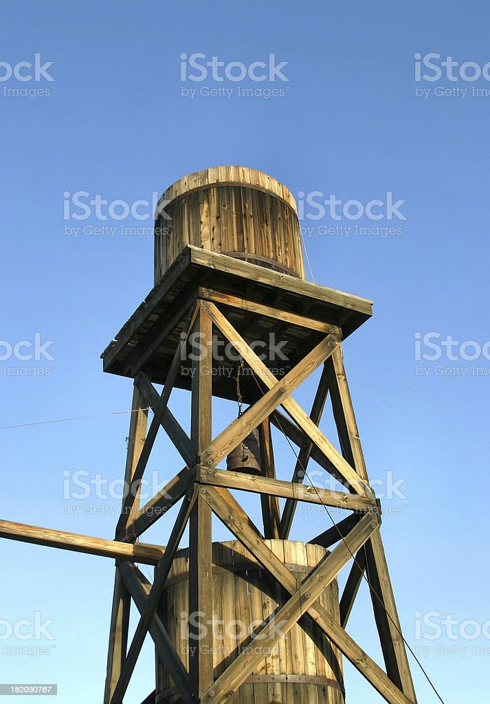 Old Water Tower II royalty-free stock photo