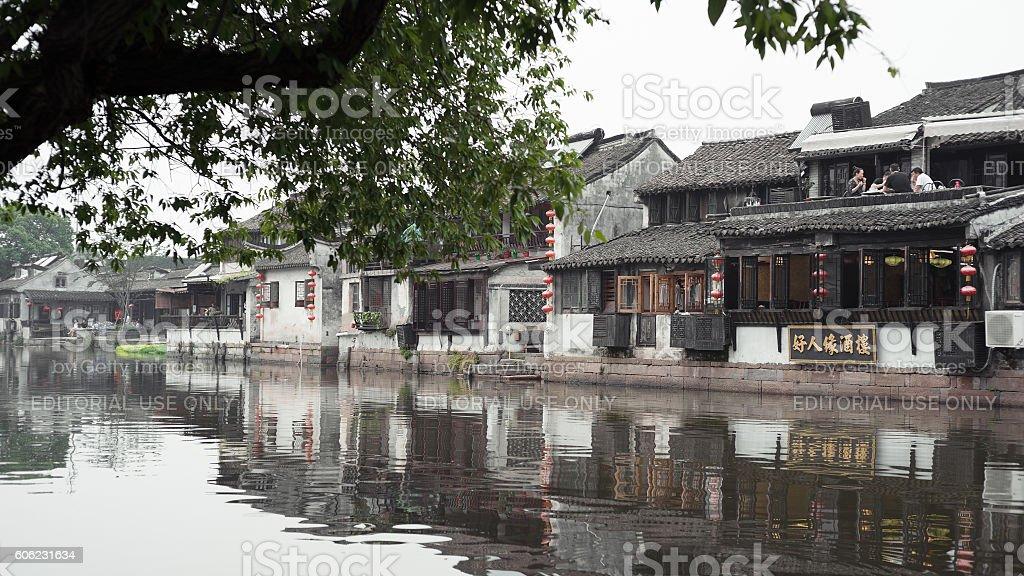 Old Water Village, Xitang, China stock photo