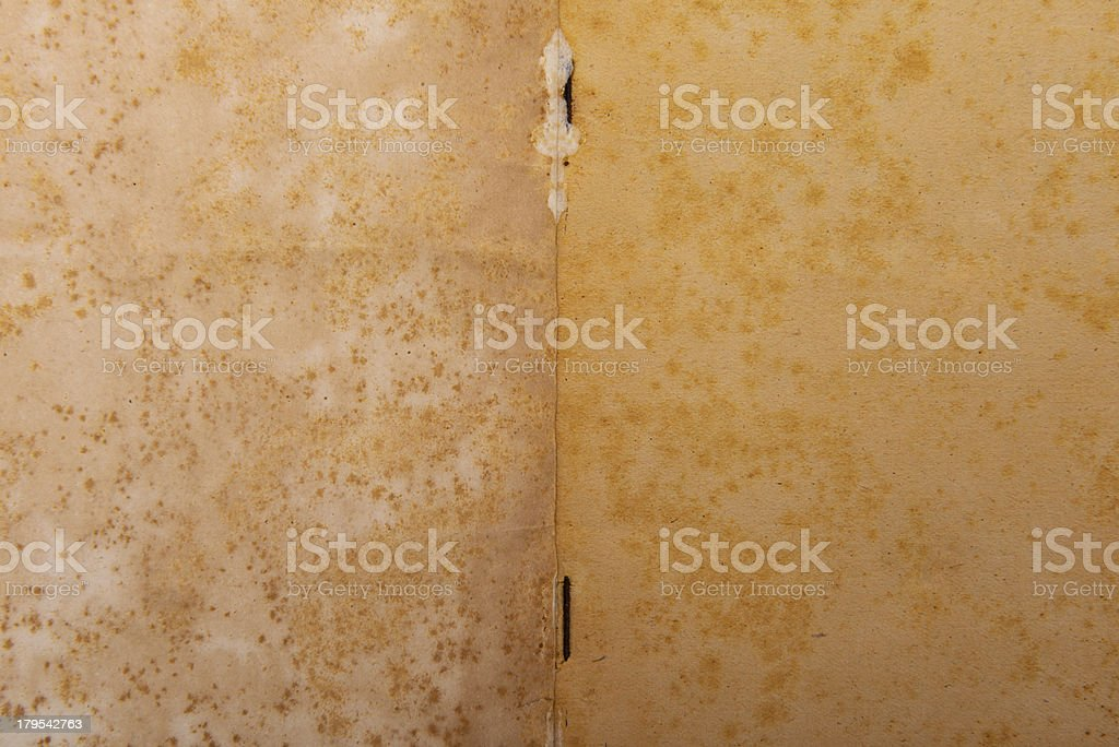 Old weathered blank notebook royalty-free stock photo