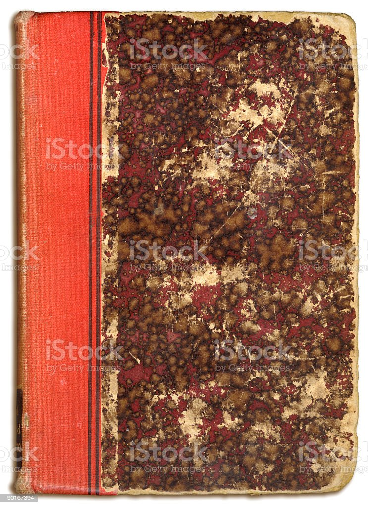 old weathered book cover royalty-free stock photo