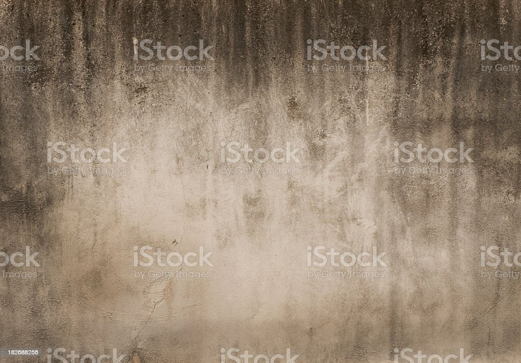 Old weathered concrete wall background royalty-free stock photo