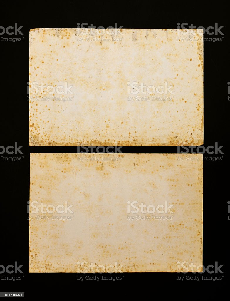 Old weathered paper royalty-free stock photo