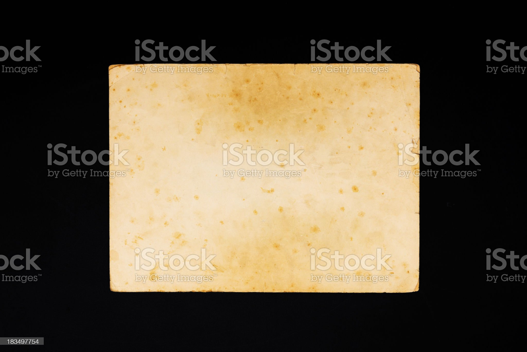 Old weathered textured paper royalty-free stock photo