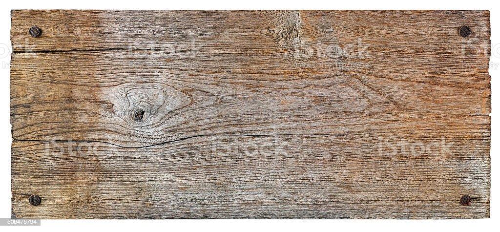 Old weathered vintage wood background. stock photo