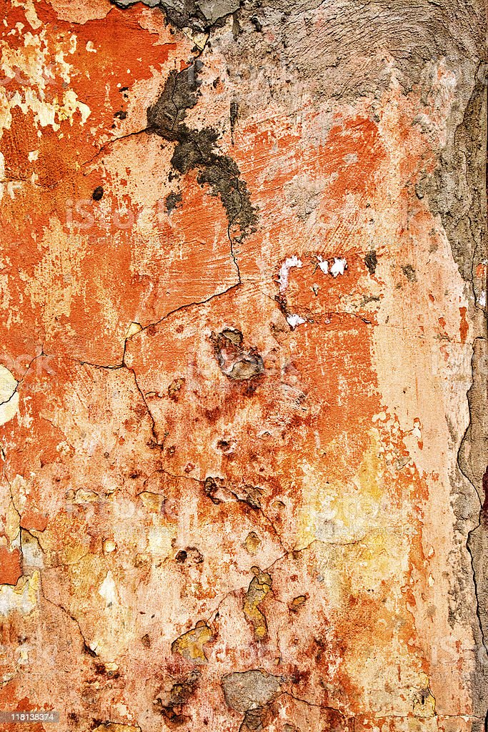 Old weathered wall royalty-free stock photo