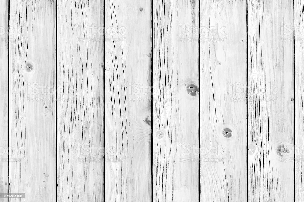 Old weathered white painted wooden board stock photo