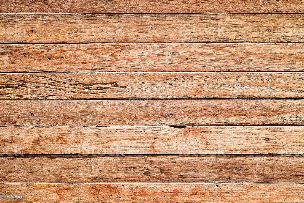 Old weathered wood board background. stock photo