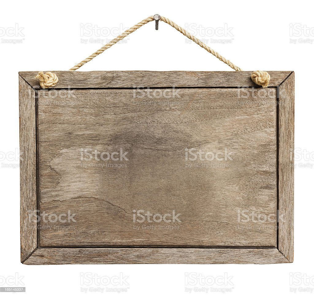 Old weathered wood signboard background. royalty-free stock photo