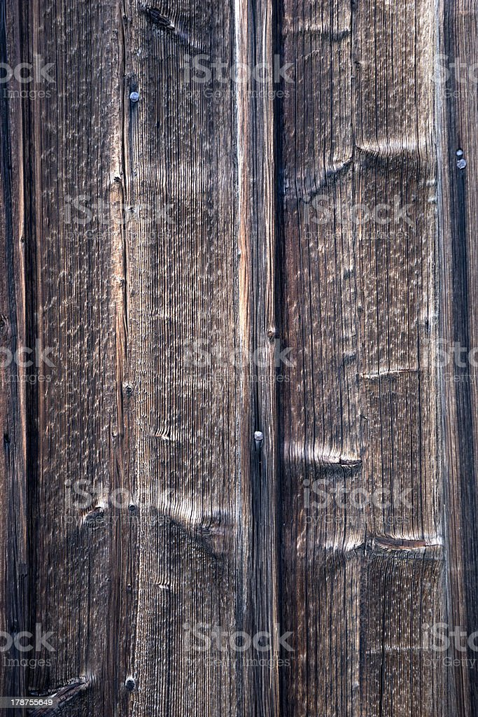 old weathered wooden wall royalty-free stock photo