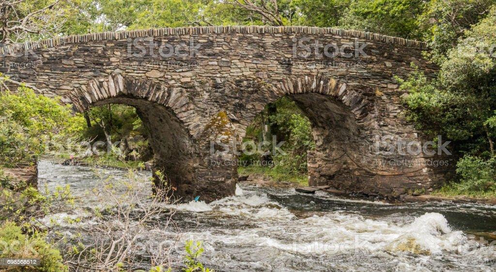 Old Weir Bridge stock photo