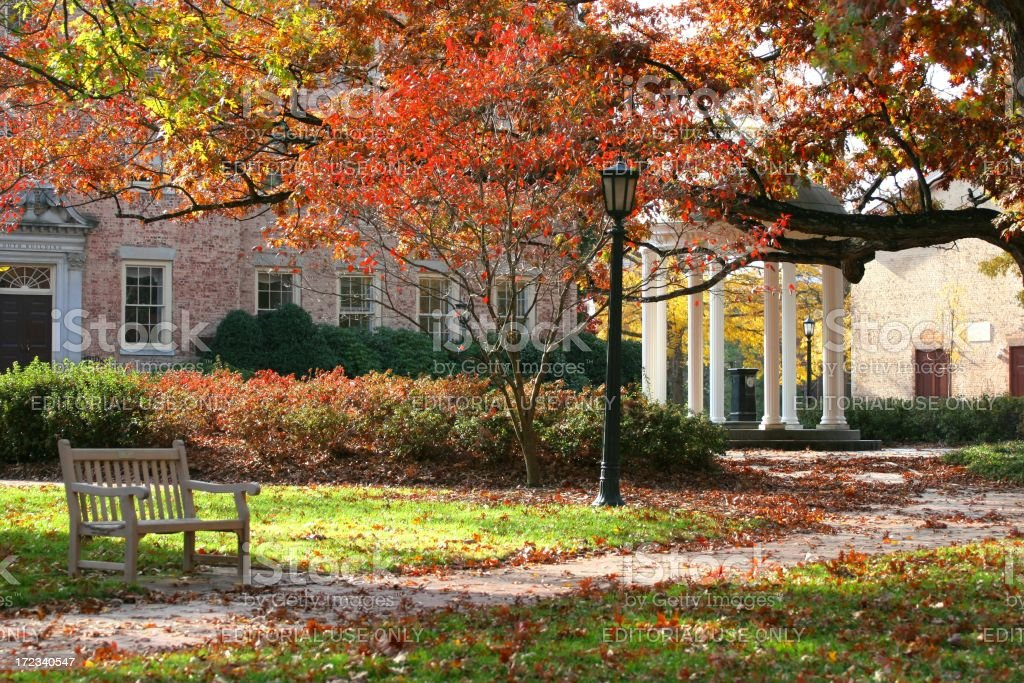 Old well at Chapel Hill stock photo