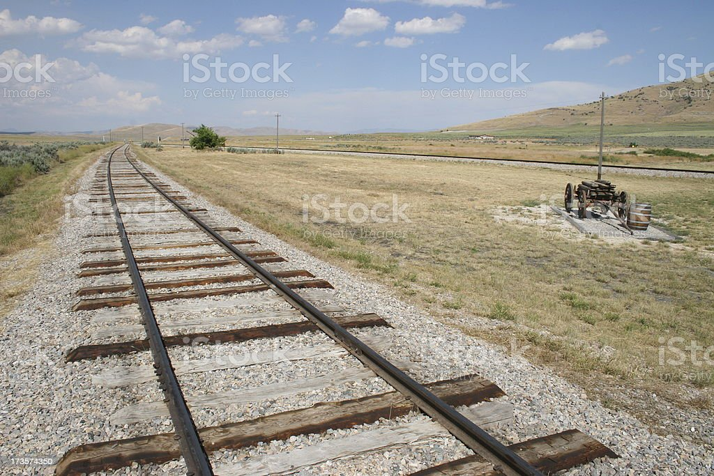 Old West royalty-free stock photo