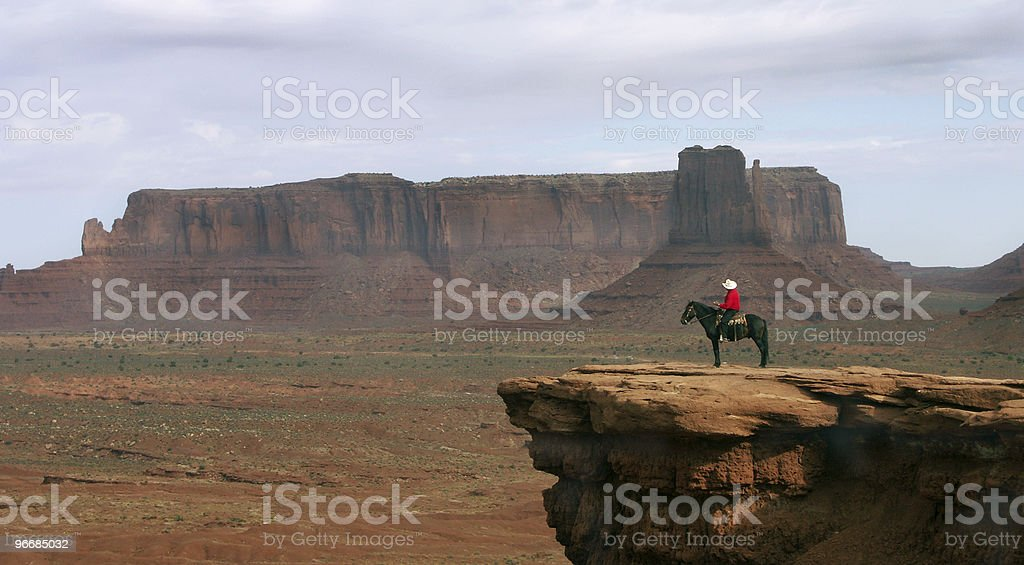 Old western stock photo