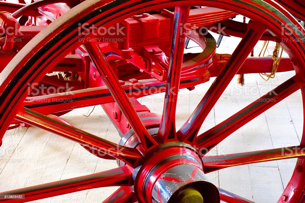 Old Wheel stock photo