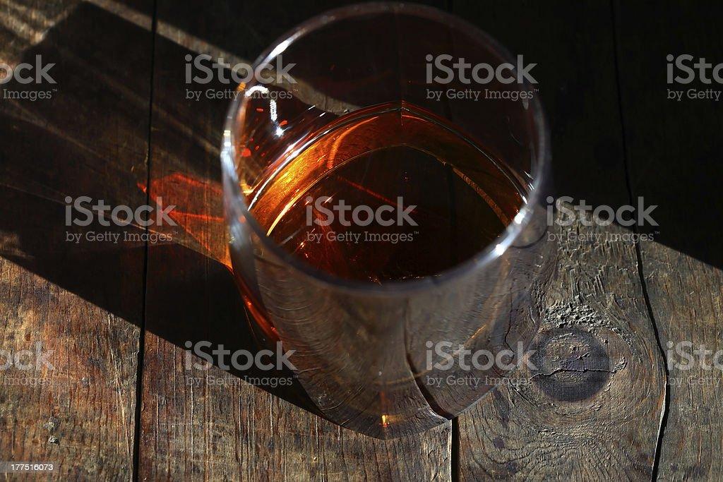 Old Whiskey stock photo