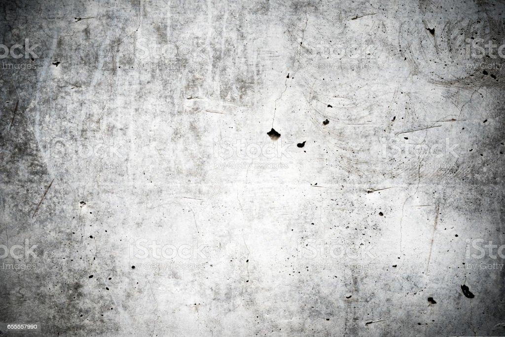 Old white concrete wall stock photo