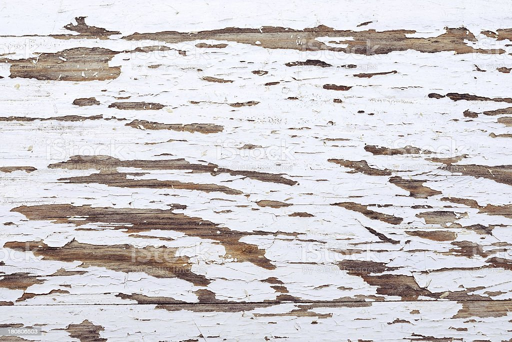 Old white painted wood background royalty-free stock photo