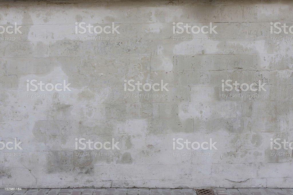 old white stone wall stock photo