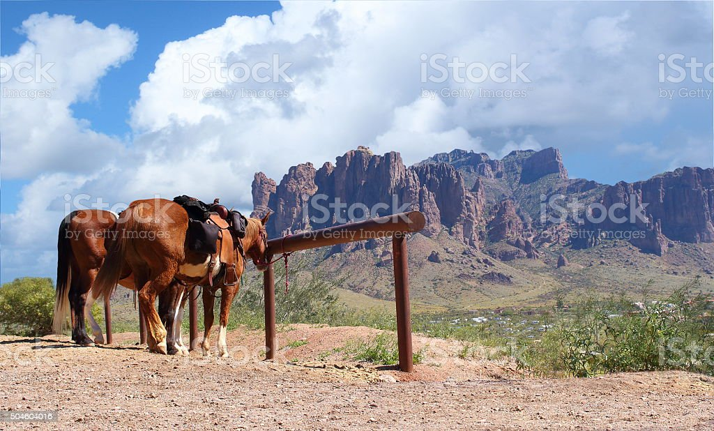 Old Wild West stock photo