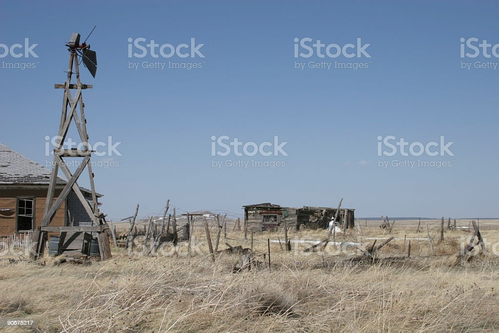 Old Windmill 1 stock photo