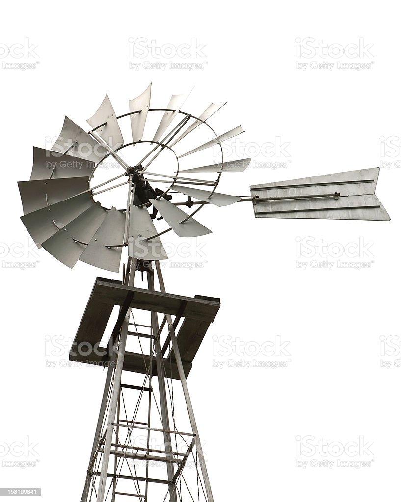 Old Windmill Generator stock photo