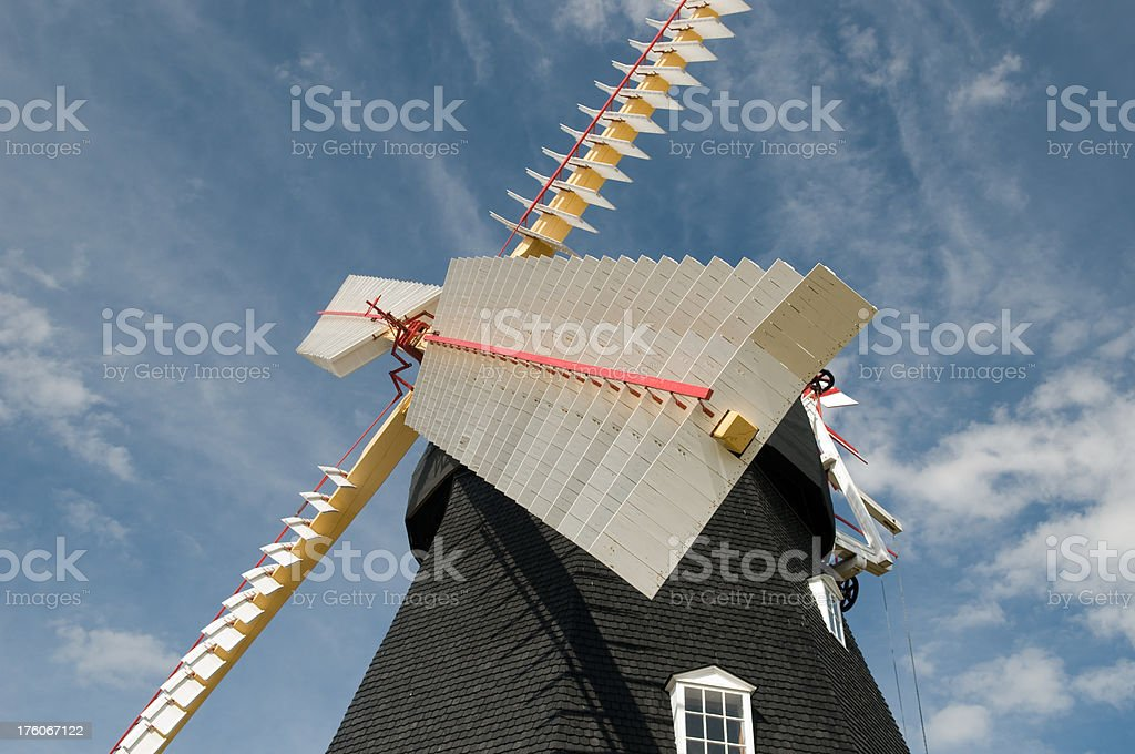 Old Windmill. stock photo