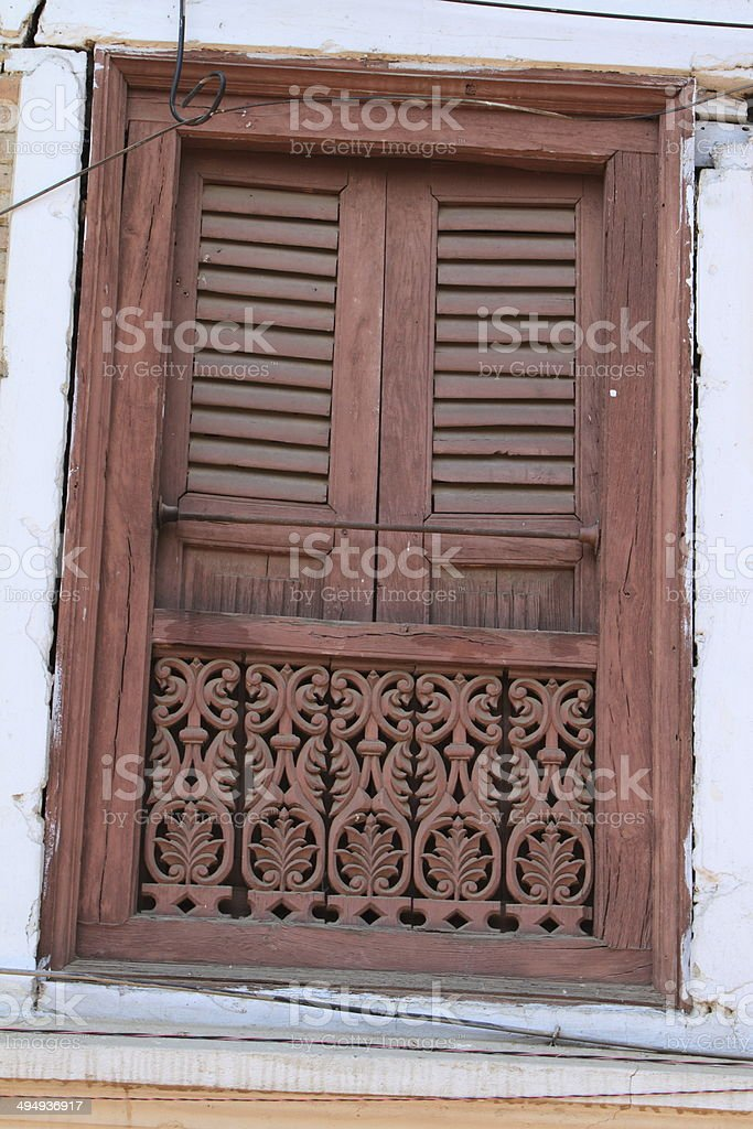 Altes Fenster stock photo